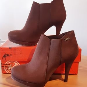 🆕️ Chocolate Suede Booties